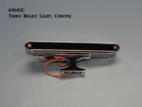 69145C Third Brake Light, LED, Chrome