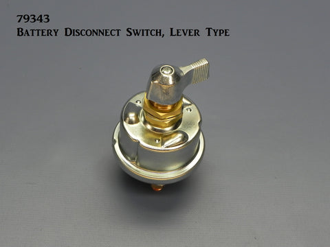 79343 Battery Disconnect Switch, Lever Type