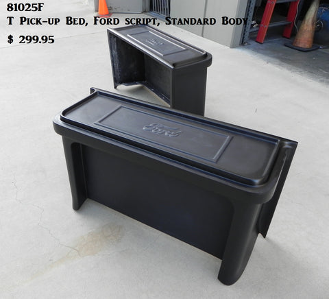 "81025F T Pick-up Bed, 20"" with Ford script"