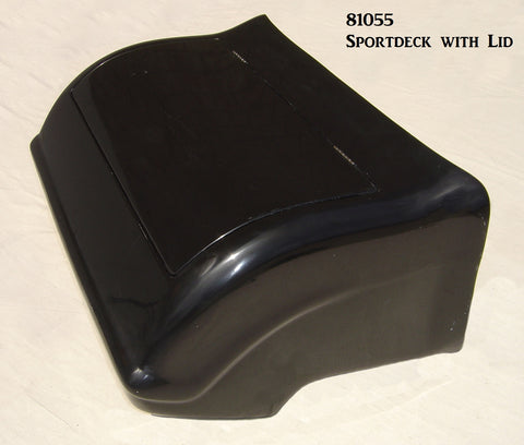 81055 Sportdeck and Lid, completely assembled with Latch & Hinges