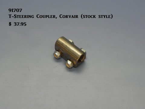 91707 Corvair Steering Coupler, Stock style