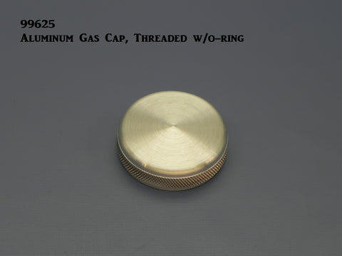 99625 Aluminum Gas Cap, Threaded w/ O-ring