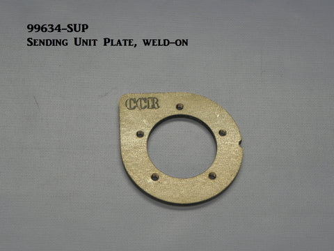 99634 Fuel Sending Unit Plate, (weld-on)