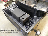 91852 Battery Mount Tray w/ Straps