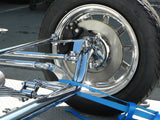 31500C T-Steering Arms, Chrome, Bolt-on