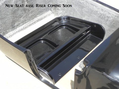 71060-SBR  Seat Base Riser, Extended Body, (no door)