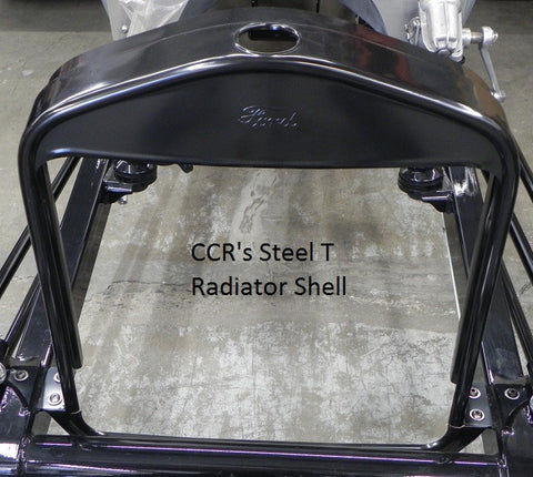 81613 T-Radiator Shell w/ Ford script, Steel