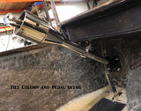 71238C Steering Column Drop, Chrome Long Body