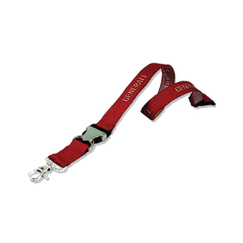 15mm Lanyard with Safety Clip & Metal Hook