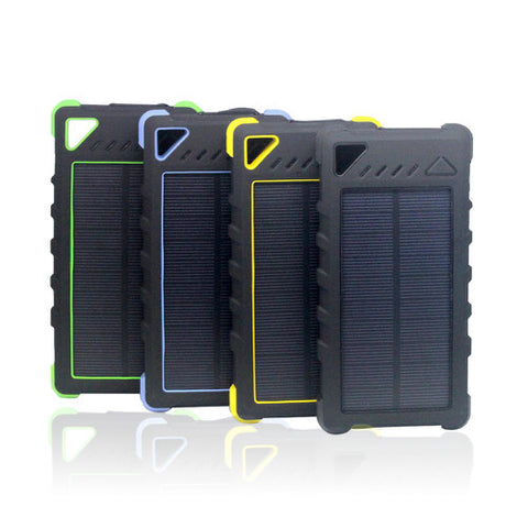 16000mah Waterproof Shockproof Dustproof Solar Powerbank