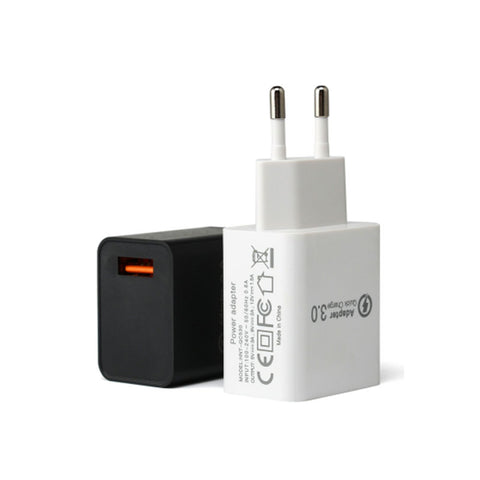 2 Pin Fast Charger USB 1 Port