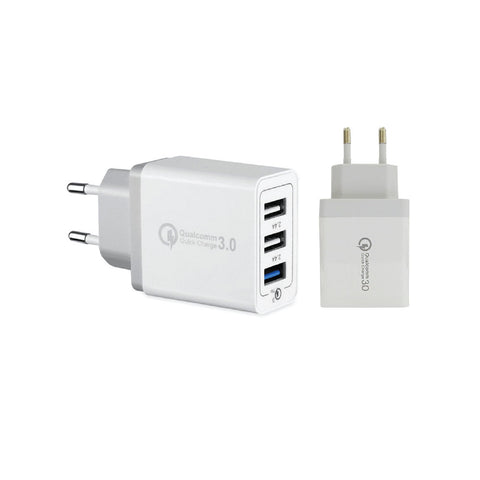 2 Pin Fast Charger USB 3 Port