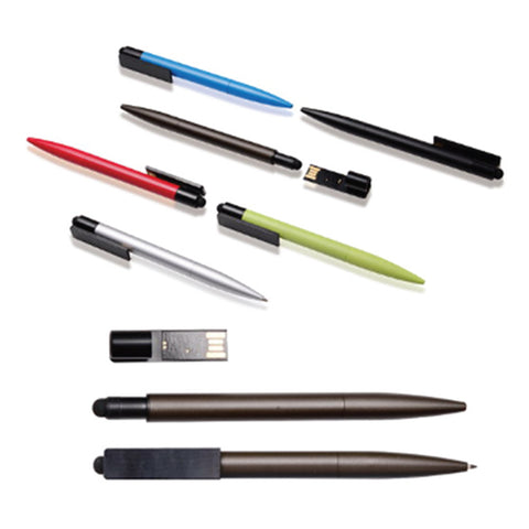 2 in 1 USB Flash Drive Pen