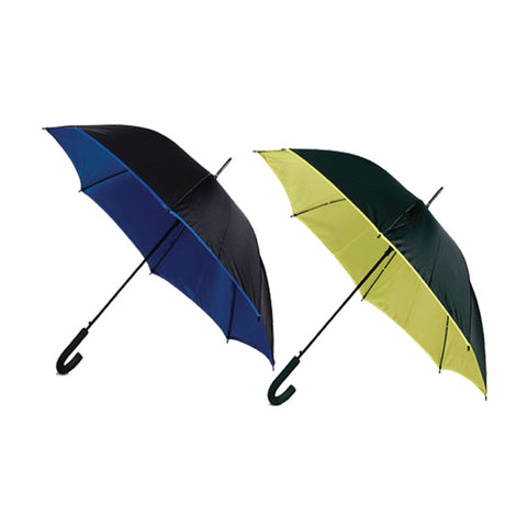 "24"" Colored Inner Panel Umbrella"