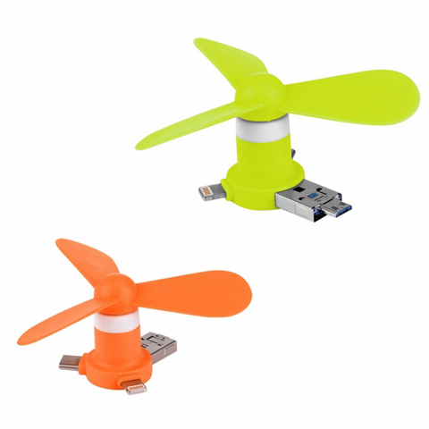 4 in 1 USB Fan