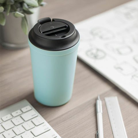 350ml Stainless Steel Suction Mug