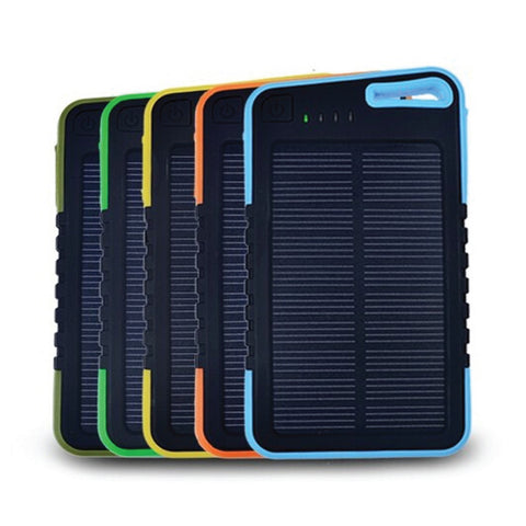 5000mAh Waterproof Solar Powerbank