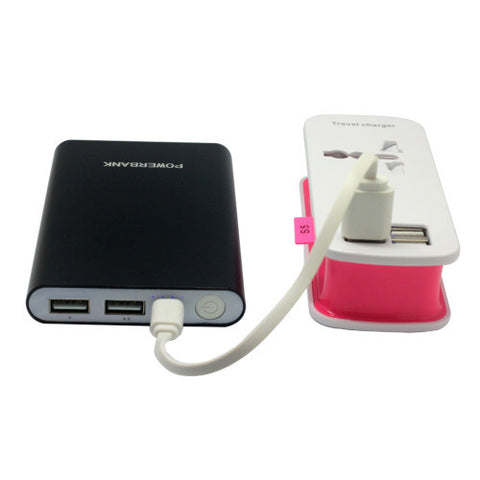 8000mAh Powerbank with Dual Output