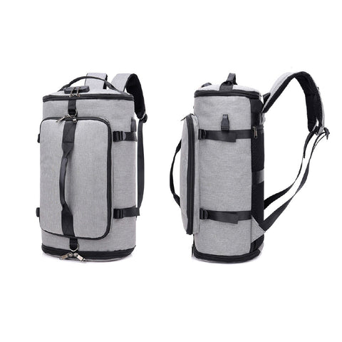 Backpack with External USB Port and Lock