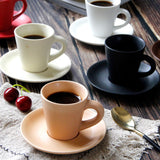 Coffee Cup with Cup Saucer