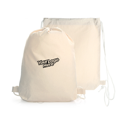 Cotton Canvas Drawstring Bag