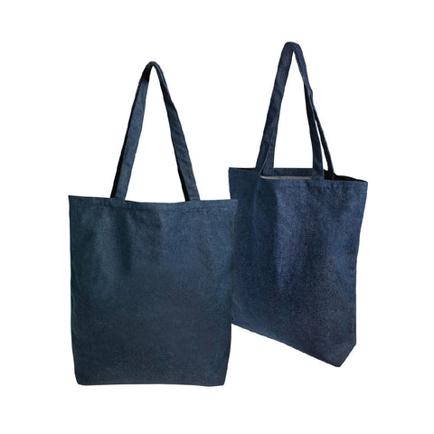 Denim A3 Tote Bag