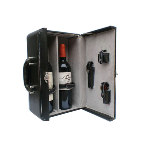 Double Wine Special Leather Box