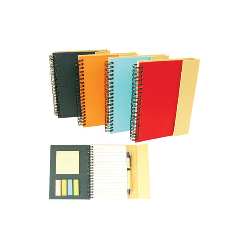 Eco Notepad with Sticky Pad
