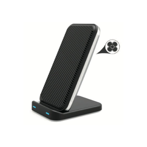 Fast Wireless Charger Stand with Cooling Fan