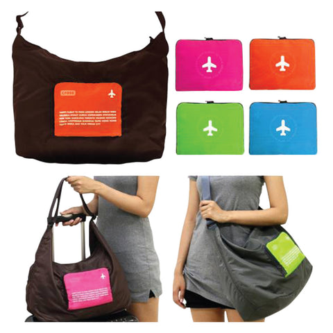 Foldable Waterproof Body Cross Travel Shopping Shoulder Bag