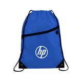 Drawstring Bag with Zip