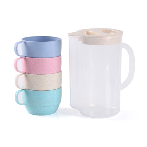 Drinking Jug with 5 cups