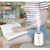 Mini USB Humidifier with LED Light and Fan