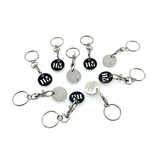 Trolley Coin Key Ring