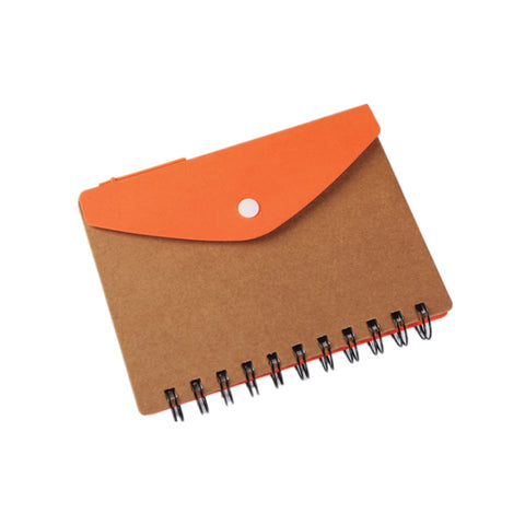 Kraft Paper notebook with Pen