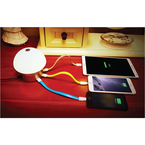 LED Desk Lamp / Table Lamp with 6 USB Charging Port