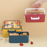 Lunch Box with Dividers and Handle