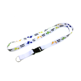 20mm Nylon Lanyard with Safety Clip