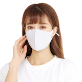 Reusable Cooling Ice Silk Cotton Mask with Adjustable Strap