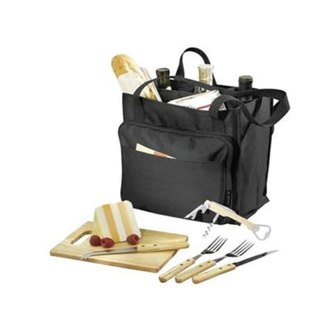 Modesto Picnic Carrier in Black Solid