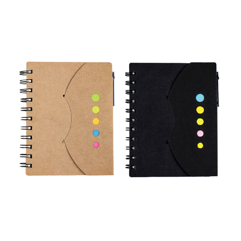 Multi Function Notebook with Pen coil