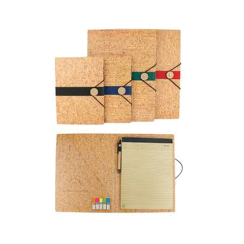 Bamboo Notebook with Pen and Strap