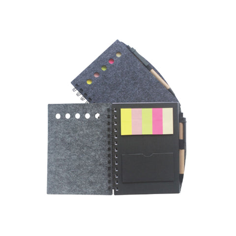 Notebook with Memo Pad & Ball Pen