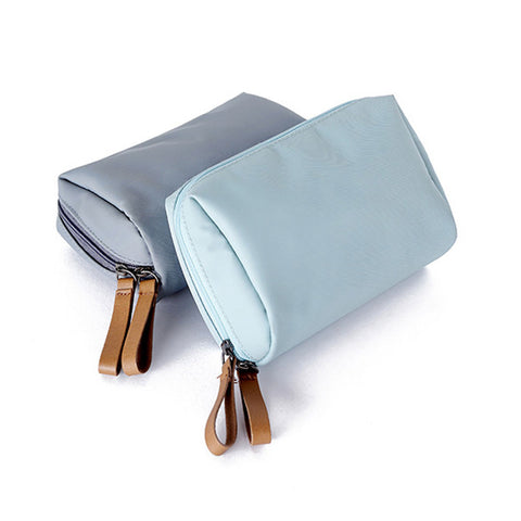 Nylon Waterproof Portable Cosmetic Bag