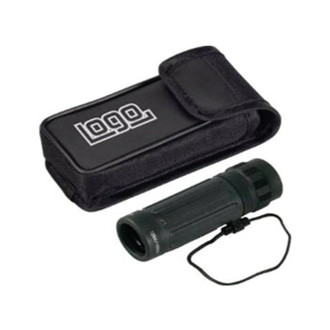 Panorama Monocular in Black with Shock Resistant Shell and blue coated lens system