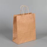 Kraft Paper Tote Bag with Twisted Handle