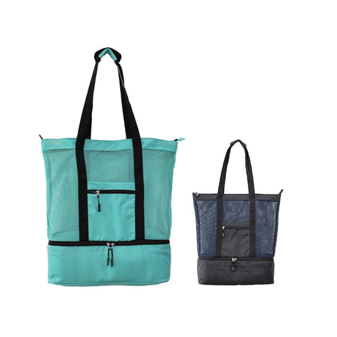 Picnic Tote Bag with Cooler Bag compartment