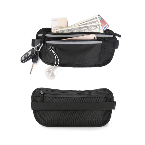 RFID anti - theft brush body belt wallet wallet bag