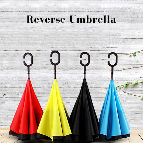 Reversible umbrella/ Reverse Umbrella/ Inverted umbrella/ Upside-down umbrella - YG Corporate Gift