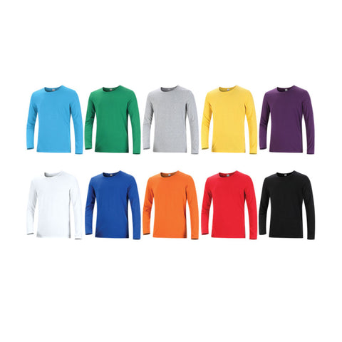 Round Neck Long Sleeve